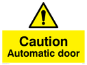 caution-automatic-door-withnbspgeneral-warning-symbol-in-warning-triangle~