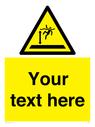 <p>Custom Danger deep water</p> Text: