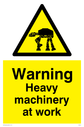 Star Wars. Heavy machinery at work. Text: Heavy machinery at work.