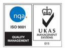 ISO9001 Certified by NQA logo