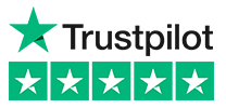 Trustpilot 5 star rating logo