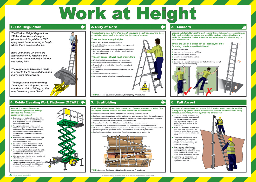 ... - More Safety Poster Sizes And Options Than Any Other Safety Poster